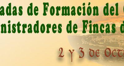 II JORNADAS DE FORMACIÓN – 2 y 3 de OCTUBRE de 2015